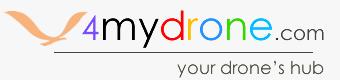 Logo 4mydrone haeder