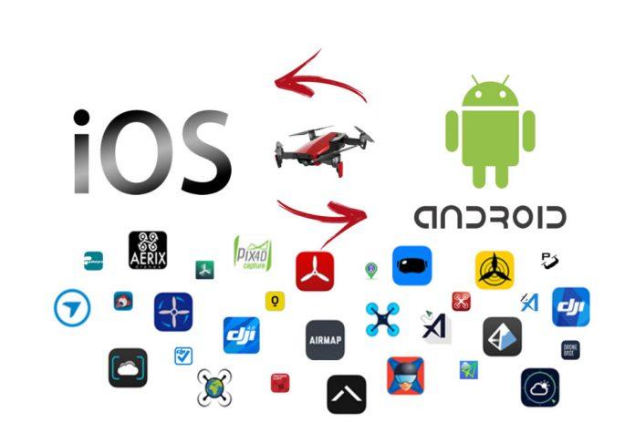 App per Droni - iOS-Android