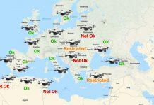 Droni Mappa Regolamenti Volo