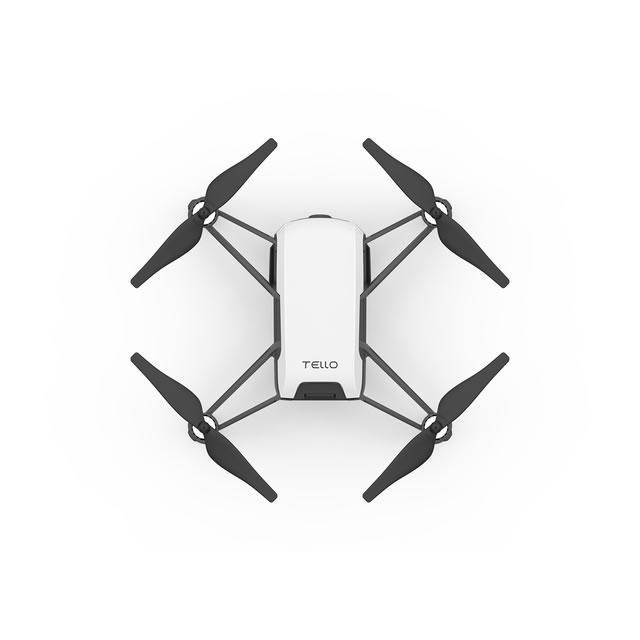 ryze tello drone quadricottero ala rotante