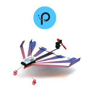 PowerUp Dart Drone Aereo Ala Fissa