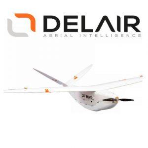 Delair DT26x Lidar Uav Ala Fissa