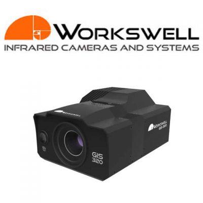 Workswell GiS-320 termocamera-gas detector per drone