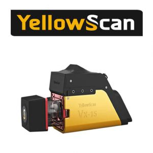 YellowScan Vx-15 Laser Scanner Drone