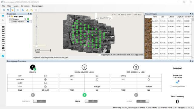 Dronemapper Software Rapid Aerofotogrammetria Drone