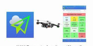 UAV Forecast App SAPR-droni