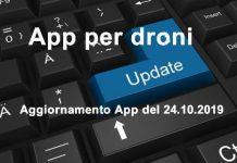 App per Droni aggiornamento