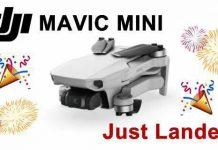 Dji Mavic Mini Drone Sapr Quadricottero