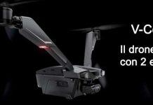 V-Coptr drone a due eliche