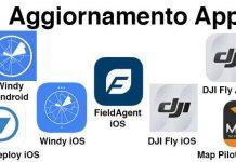 Aggiornamento App Droni