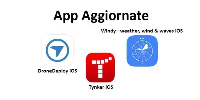 App Droni Aggiornate 25 02 20