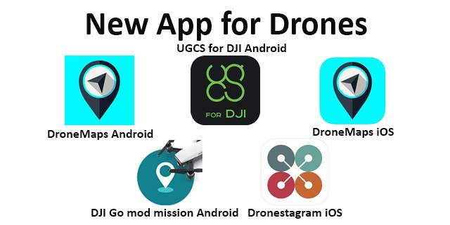 New App fro Drones 18th feb 2020