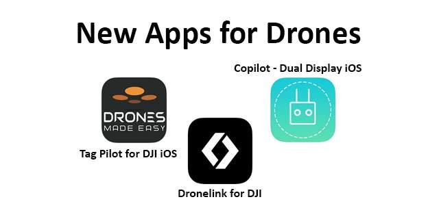New Apps Drones 27 02 20