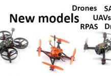 New Drone Models - Nuovi modelli drone