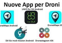 Nuove App Droni 19 feb 2020