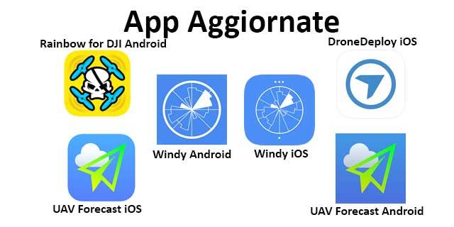 App Droni Aggiornate 11 03 20