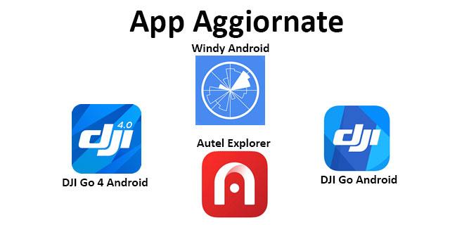 App Droni Aggiornate 12 03 20