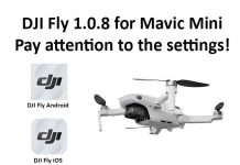 DJI Fly 1.0.8 Attention To Settings