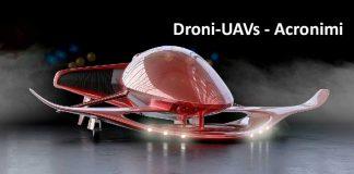 Droni Uav Acronimi