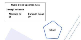 Drone Operation Area Esempio Poligono