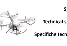 Specifiche Tecniche Droni