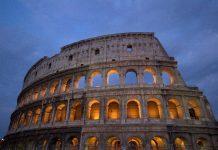 Colosseo Drone Caduto
