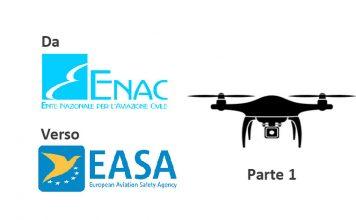 Normativa Droni ENAC EASA Parte1
