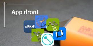 App Droni Aggiornamento 23 10 20