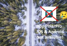 Polarpro App Ios Android Droni Discontinued