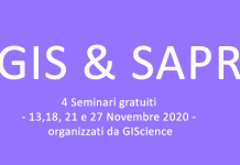 GIS e Sapr Seminari GIScience